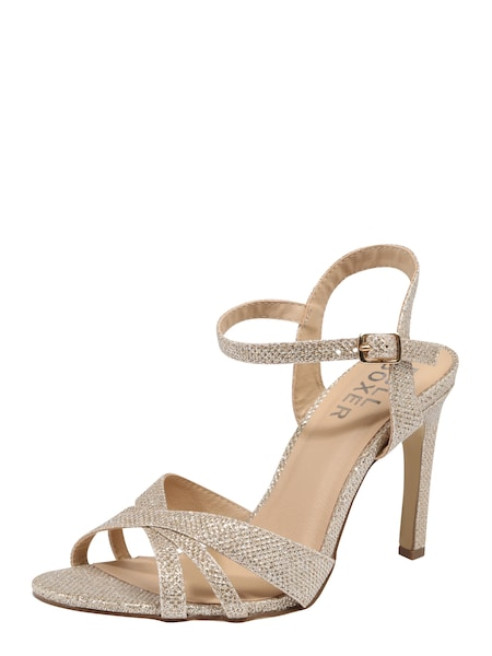 Highheels - Riemensandalen › BULLBOXER › gold  - Onlineshop ABOUT YOU