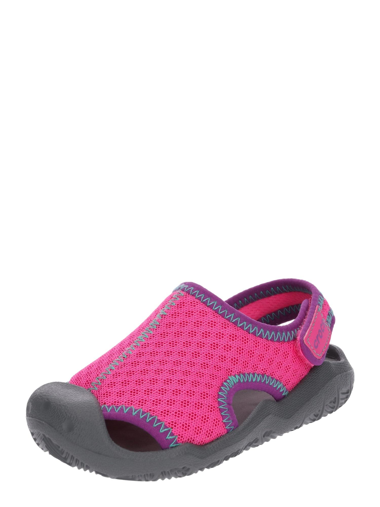 Otevřená obuv Swiftwater magenta Crocs