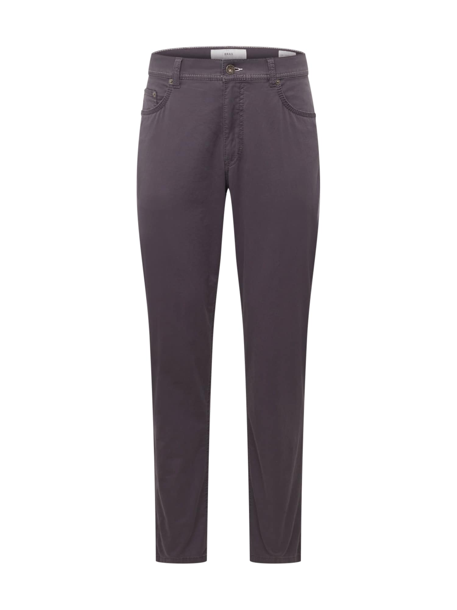 Kalhoty cooper fancy tmavě šedá BRAX
