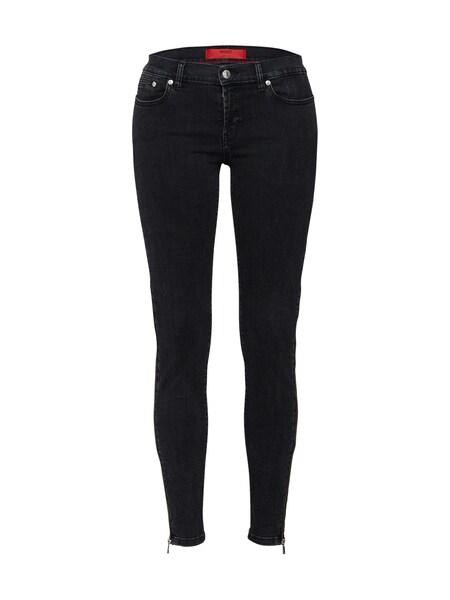 Hosen für Frauen - Jeans 'Gilljana 18' › HUGO › black denim  - Onlineshop ABOUT YOU