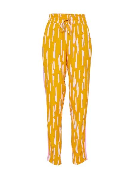 Hosen für Frauen - Hose 'Monette' › MbyM › gelb rosa weiß  - Onlineshop ABOUT YOU