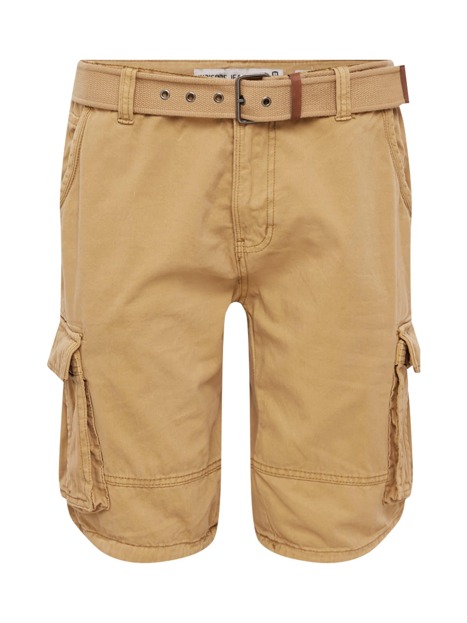 INDICODE JEANS Shorts 'Monroe'  pieskový