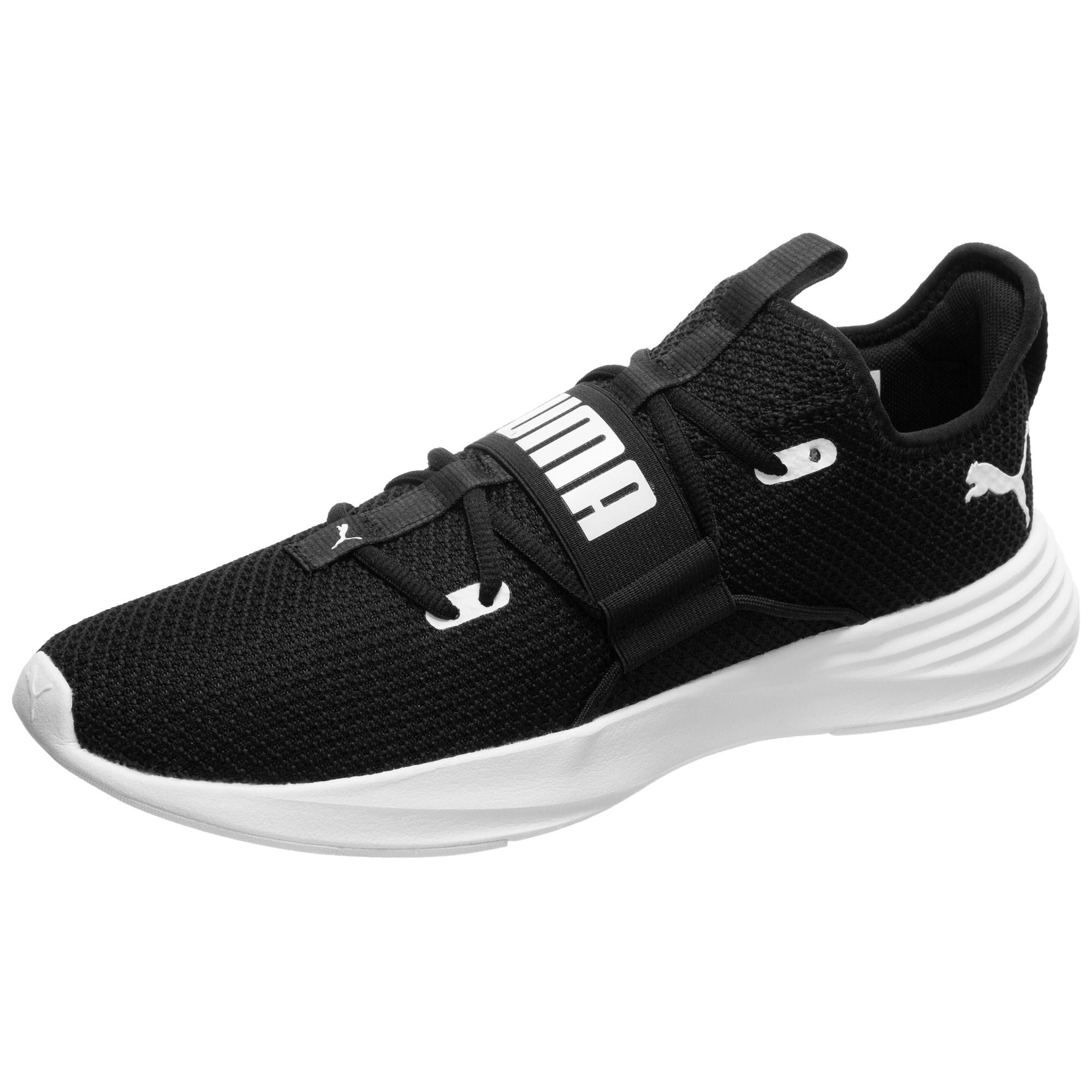 PUMA Bėgimo batai 'Persist XT Knit' balta / juoda