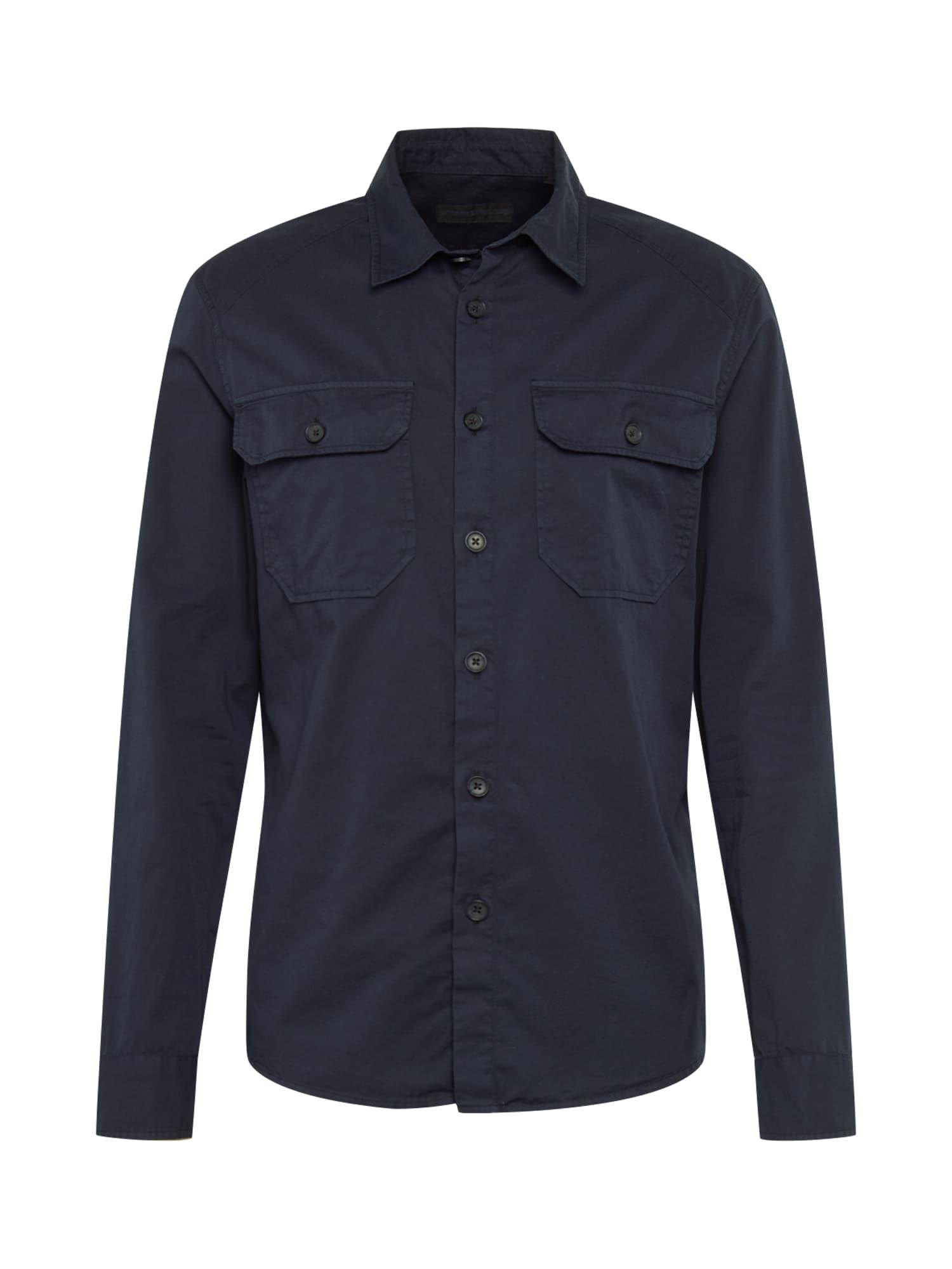 DRYKORN Marškiniai tamsiai mėlyna