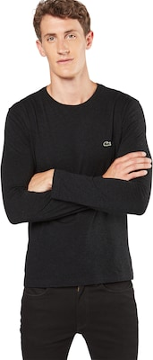 LACOSTE Langarmshirt mit Label-Patch