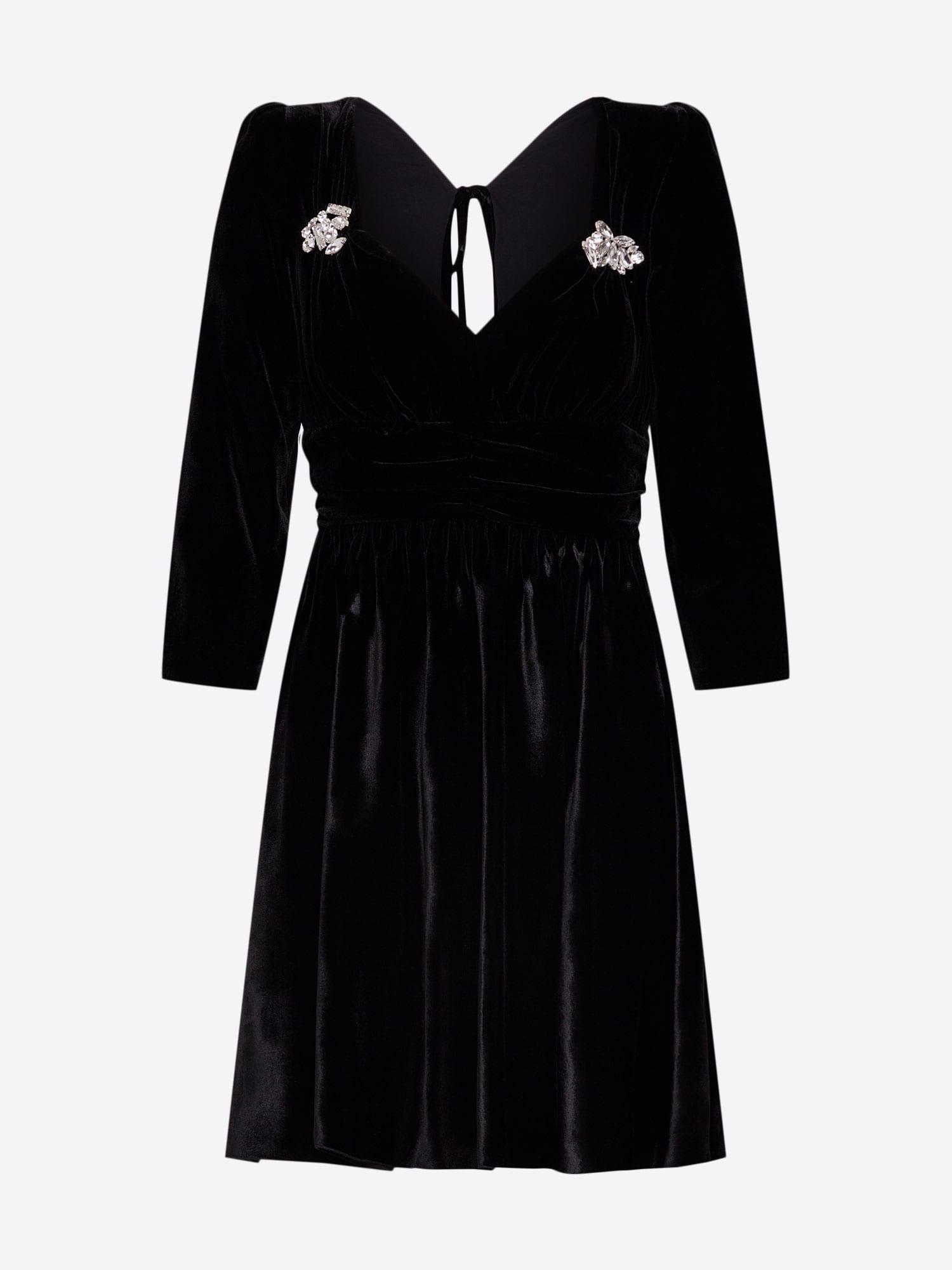 The Kooples Kleid schwarz - Schwarzes Kleid
