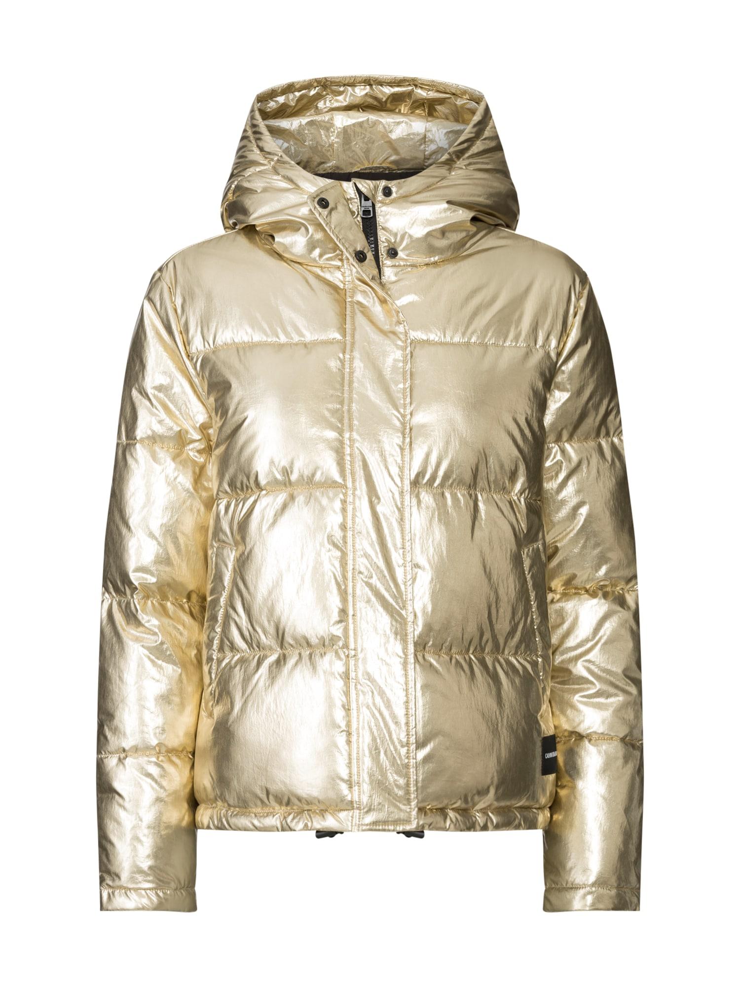 Calvin Klein Jeans Žieminė striukė 'GOLD PUFFER' auksas