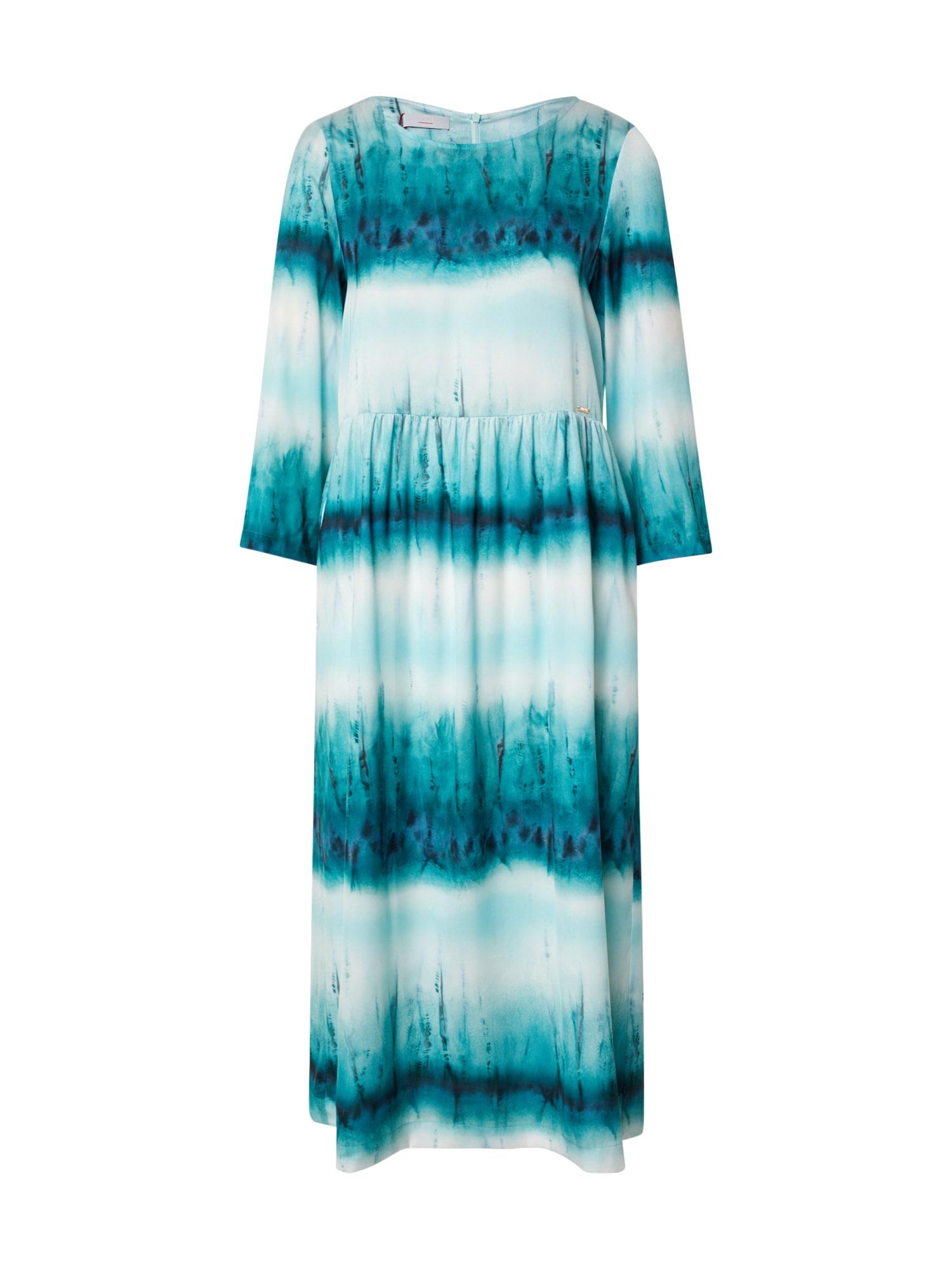 CINQUE Suknelė 'CIDALINA' mėlyna / turkio spalva