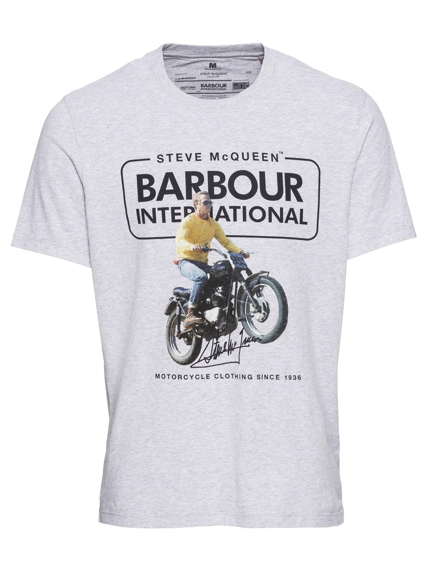Tričko Cooler Tee šedobéžová Barbour International