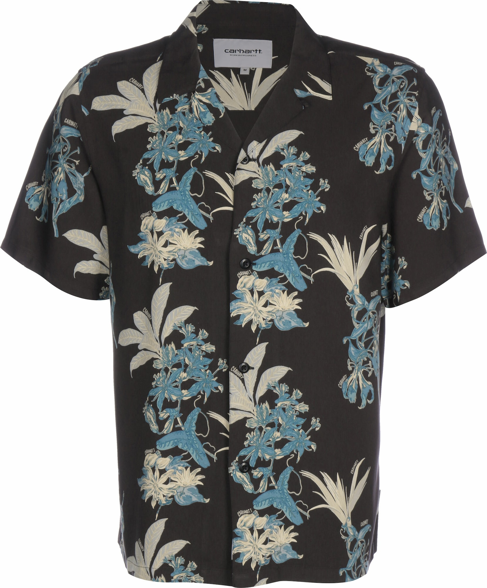 Carhartt WIP Dalykiniai marškiniai ' Hawaiian Floral ' mišrios spalvos