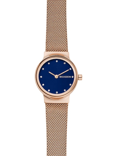 Uhren für Frauen - SKAGEN Damenuhr blau rosegold  - Onlineshop ABOUT YOU