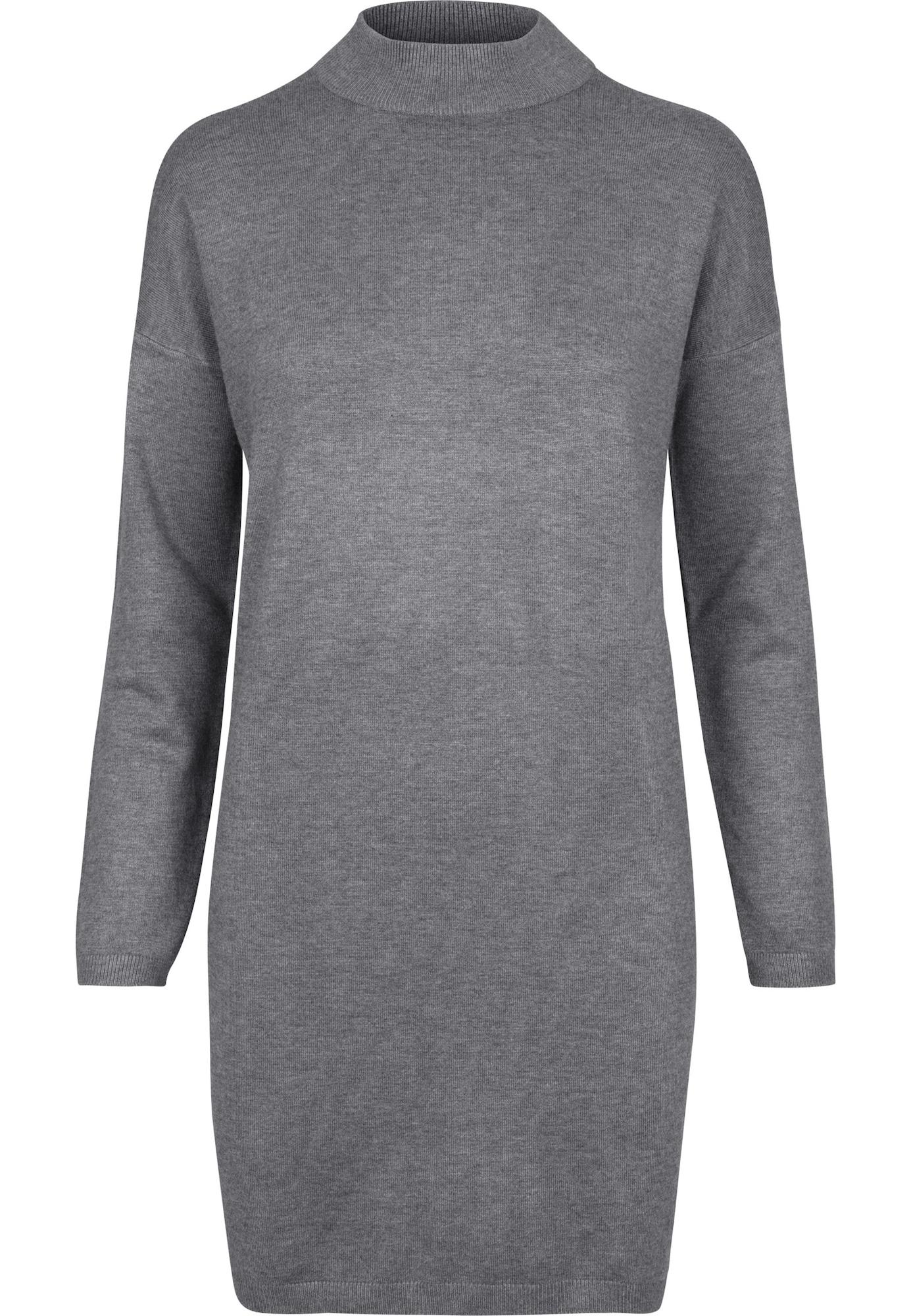 Urban Classics Suknelė tamsiai pilka