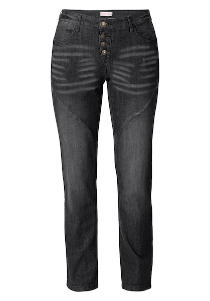 Hosen - Jeans 'Die Gerade' › SHEEGO › schwarz  - Onlineshop ABOUT YOU