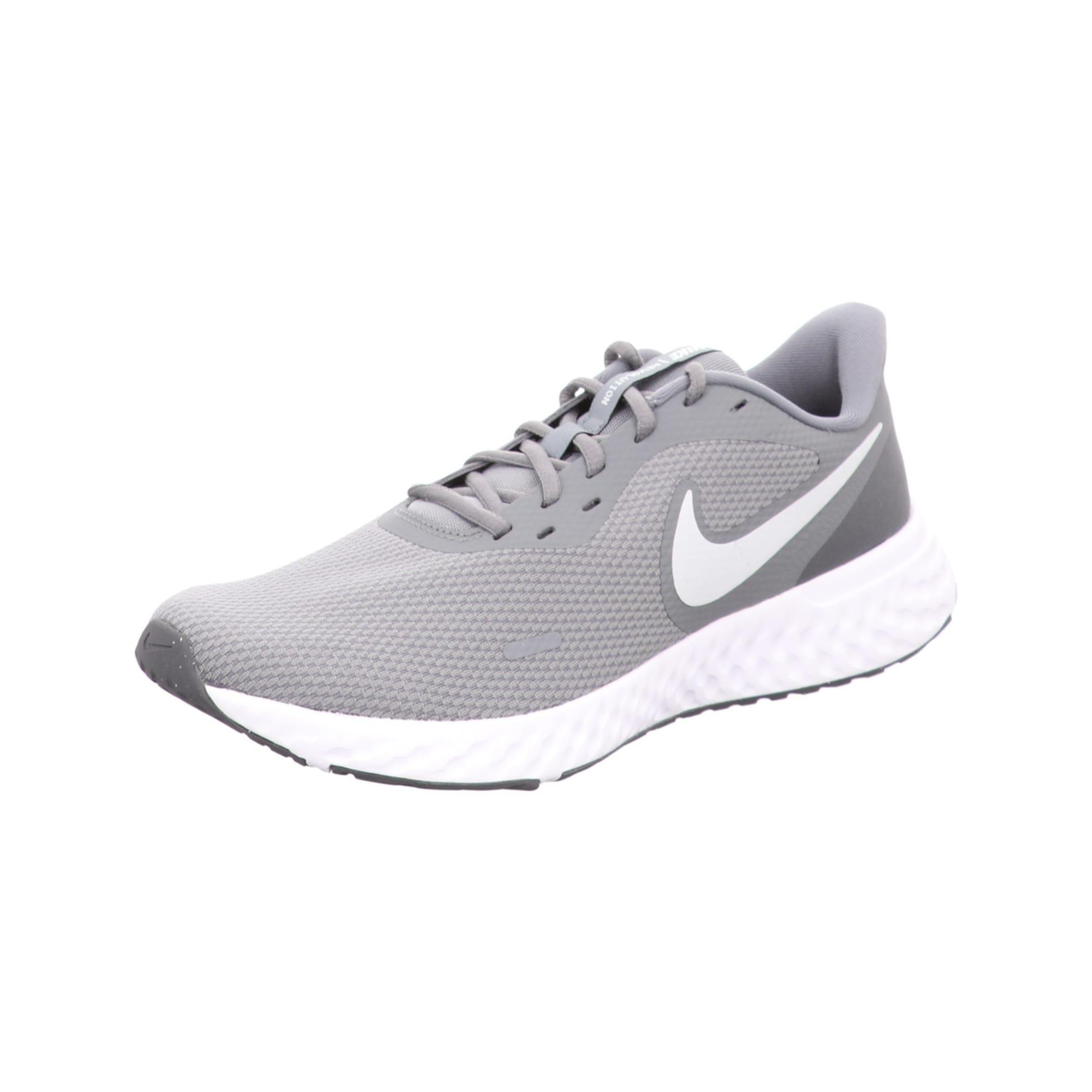 NIKE Bėgimo batai balta / pilka