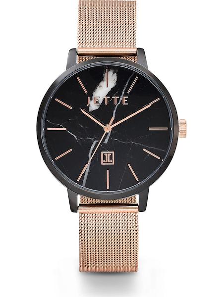 Uhren für Frauen - JETTE Damenuhr rosegold schwarz  - Onlineshop ABOUT YOU