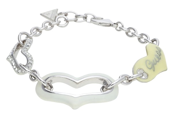 Armbaender für Frauen - GUESS Armband 'UBB41206' silber  - Onlineshop ABOUT YOU