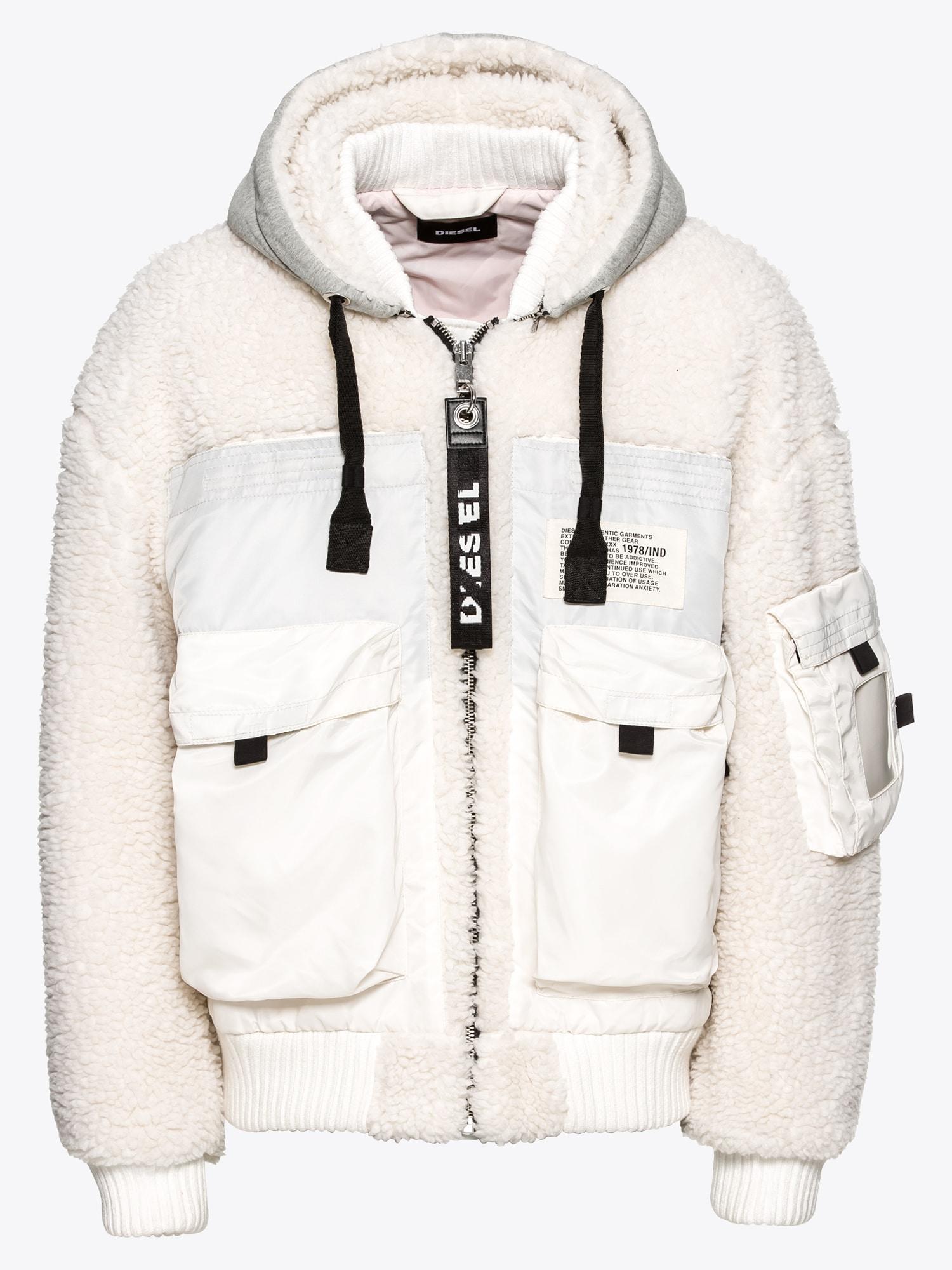 Winterjas Heren Wit.Shop Via Mode Webwinkel Nl