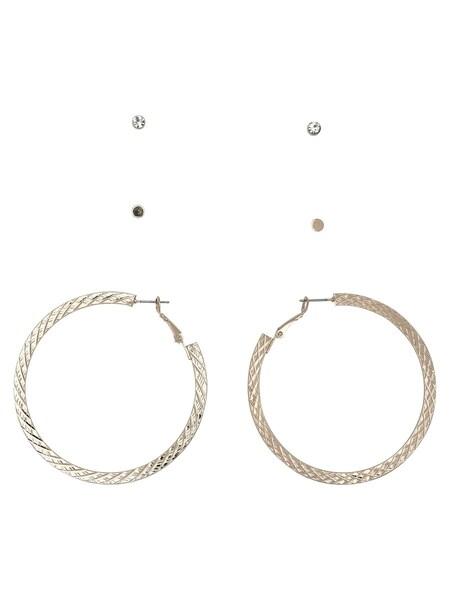Ohrringe für Frauen - ONLY 3er Pack Ohrringe gold  - Onlineshop ABOUT YOU