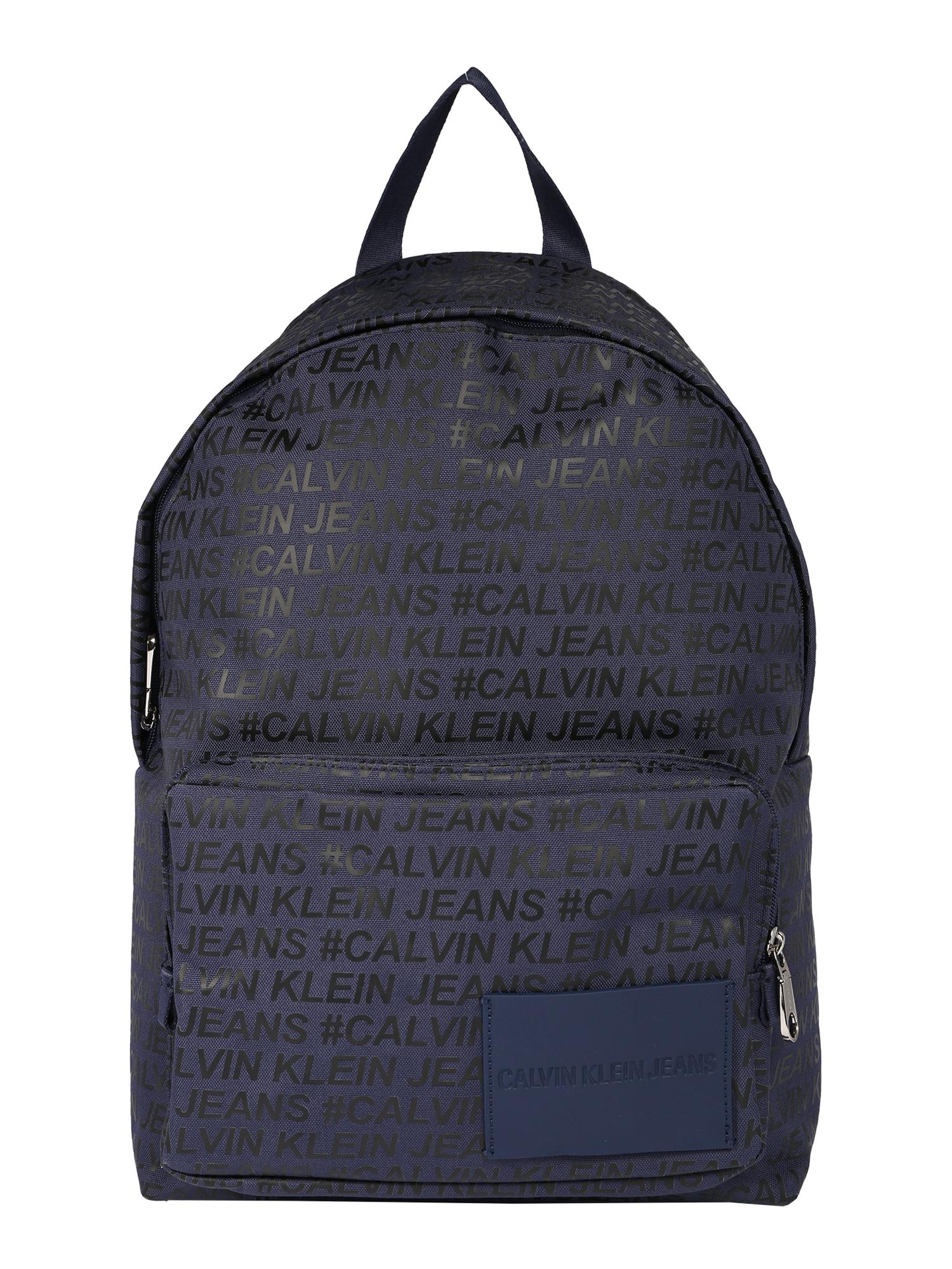 Calvin Klein Jeans Batoh  námořnická modř