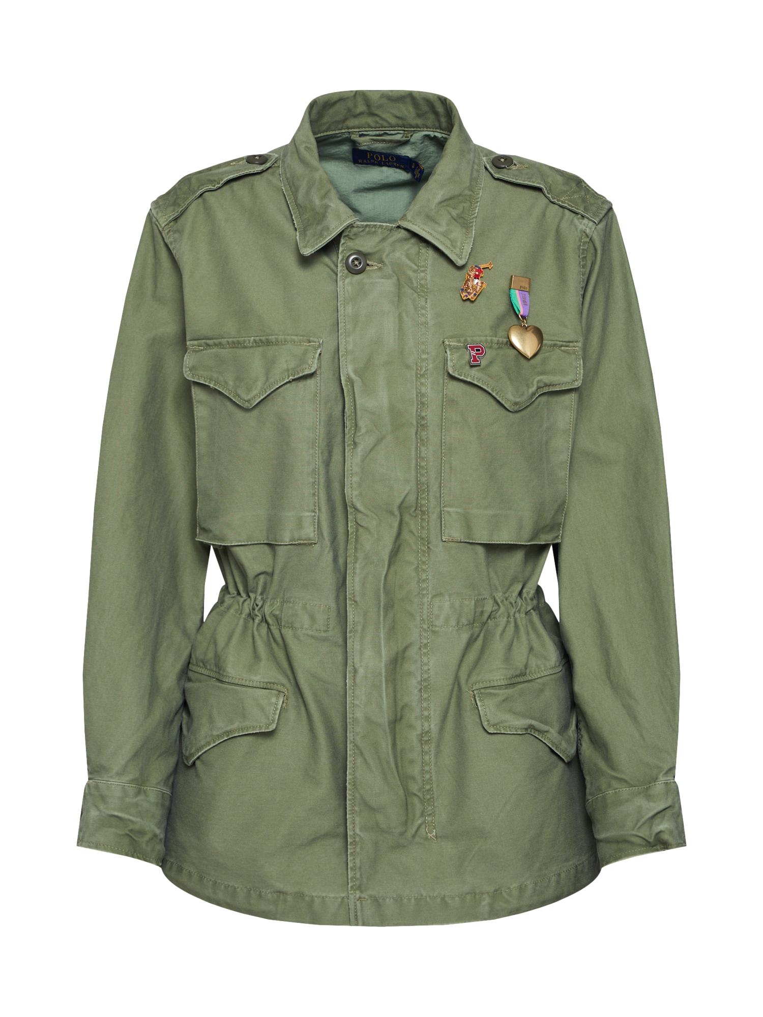 Přechodná bunda SKN MTRY JKT-JACKET khaki POLO RALPH LAUREN