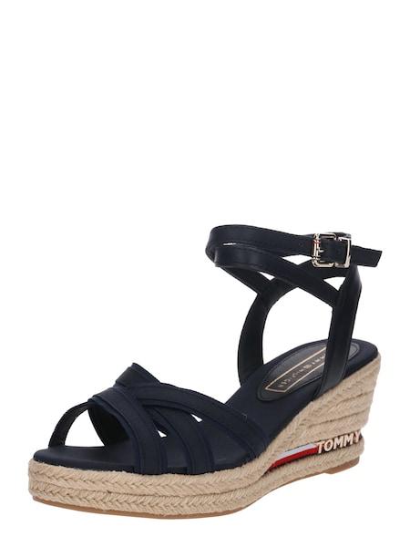 Sandalen für Frauen - TOMMY HILFIGER Sandale 'Elba 60CI' nachtblau  - Onlineshop ABOUT YOU