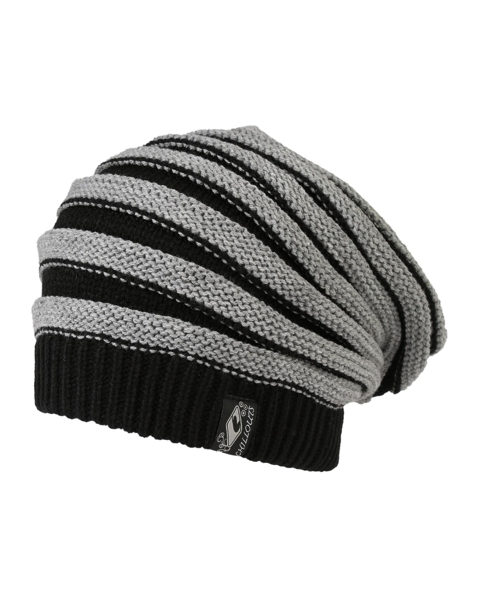 chillouts Megzta kepurė 'Brian' pilka / juoda
