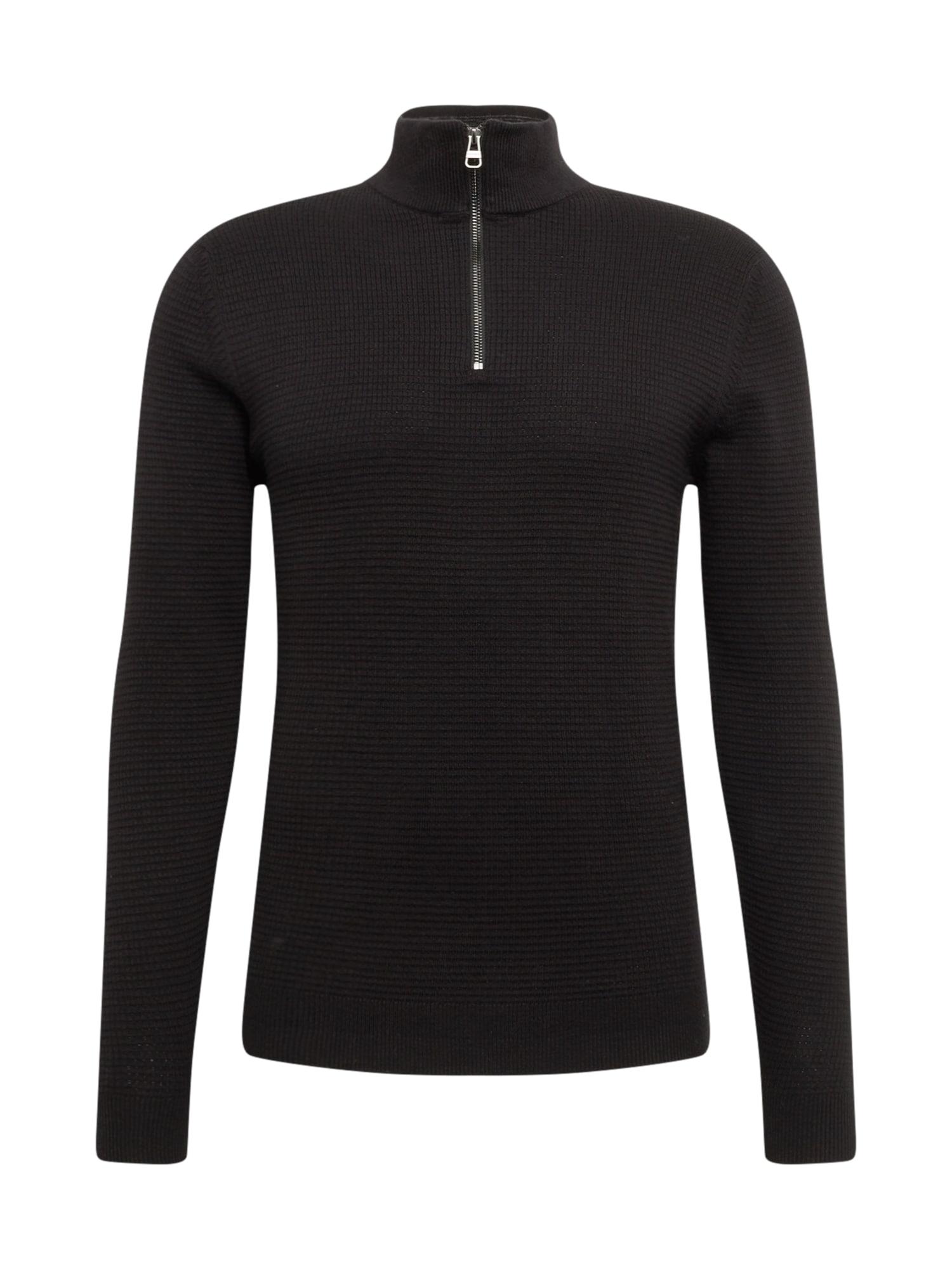 ESPRIT Megztinis juoda