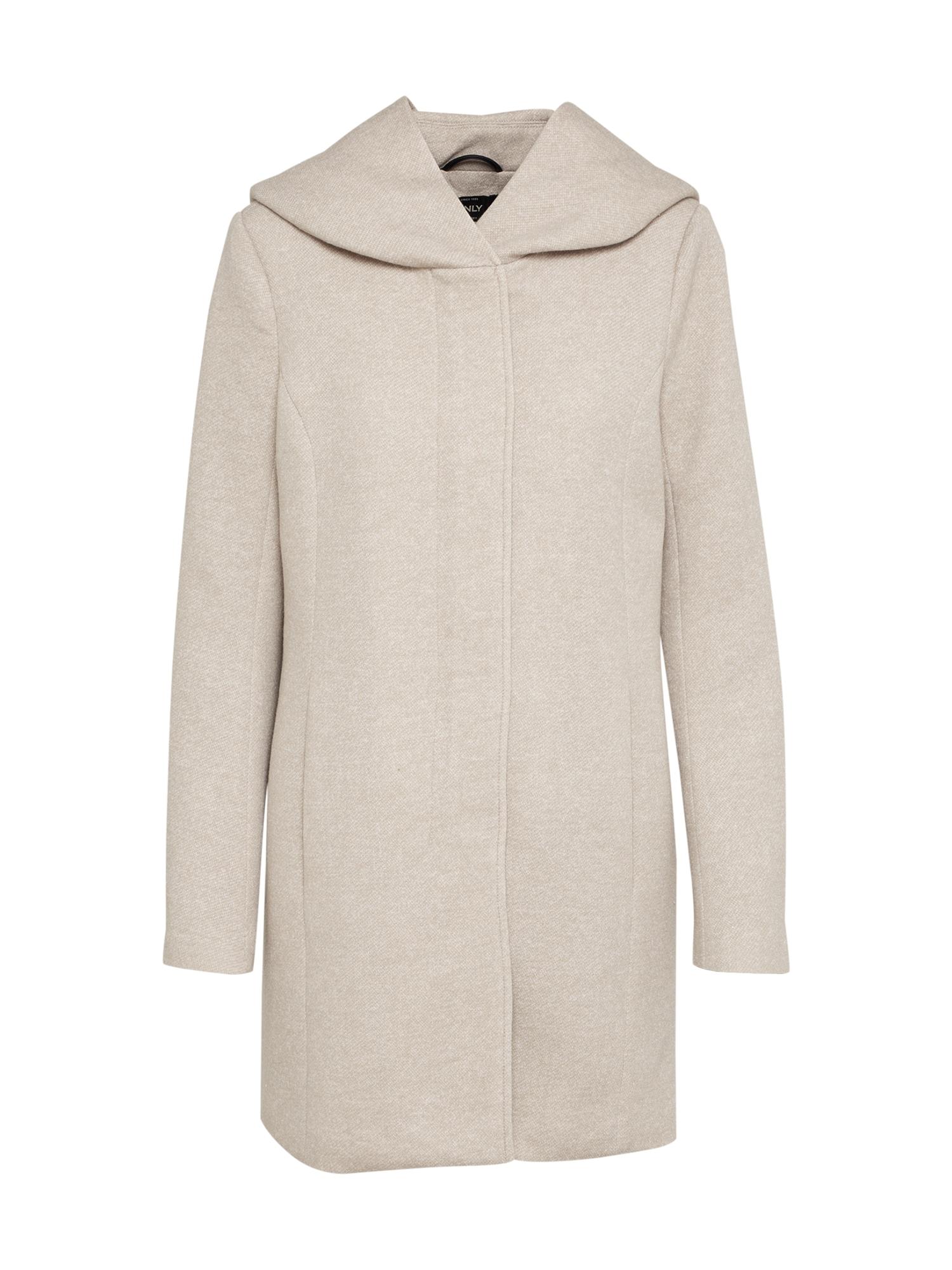 ONLY Rudeninis-žieminis paltas 'onlSEDONA' gelsvai pilka spalva