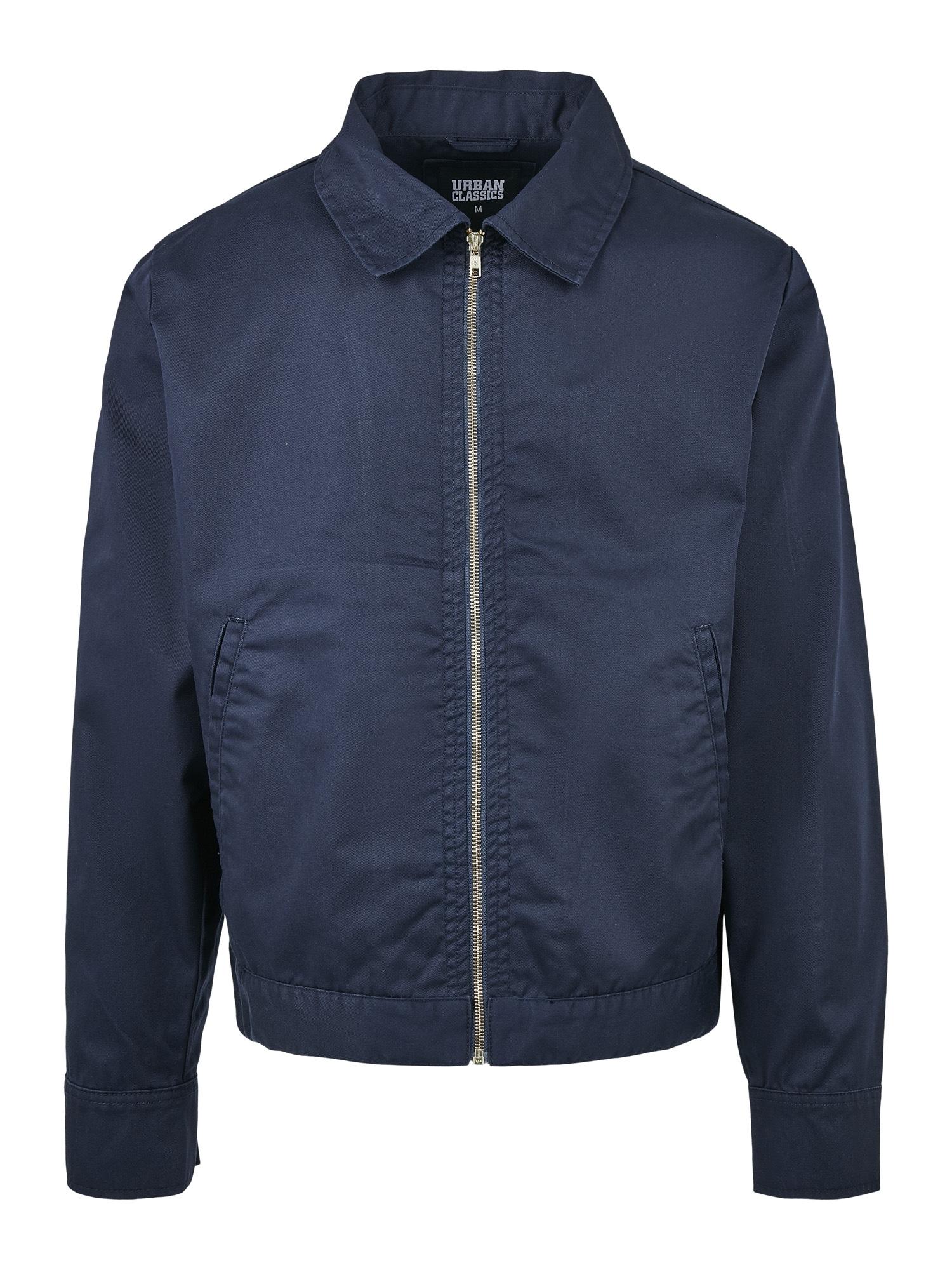 Urban Classics Demisezoninė striukė 'Workwear' nakties mėlyna