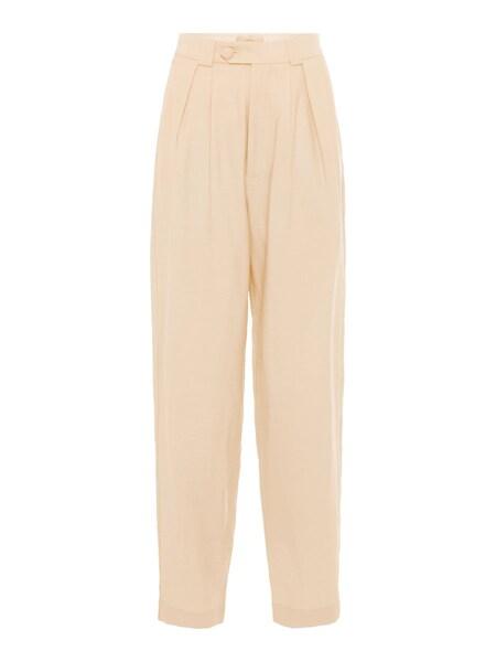Hosen für Frauen - POSTYR High Waist Hose beige  - Onlineshop ABOUT YOU
