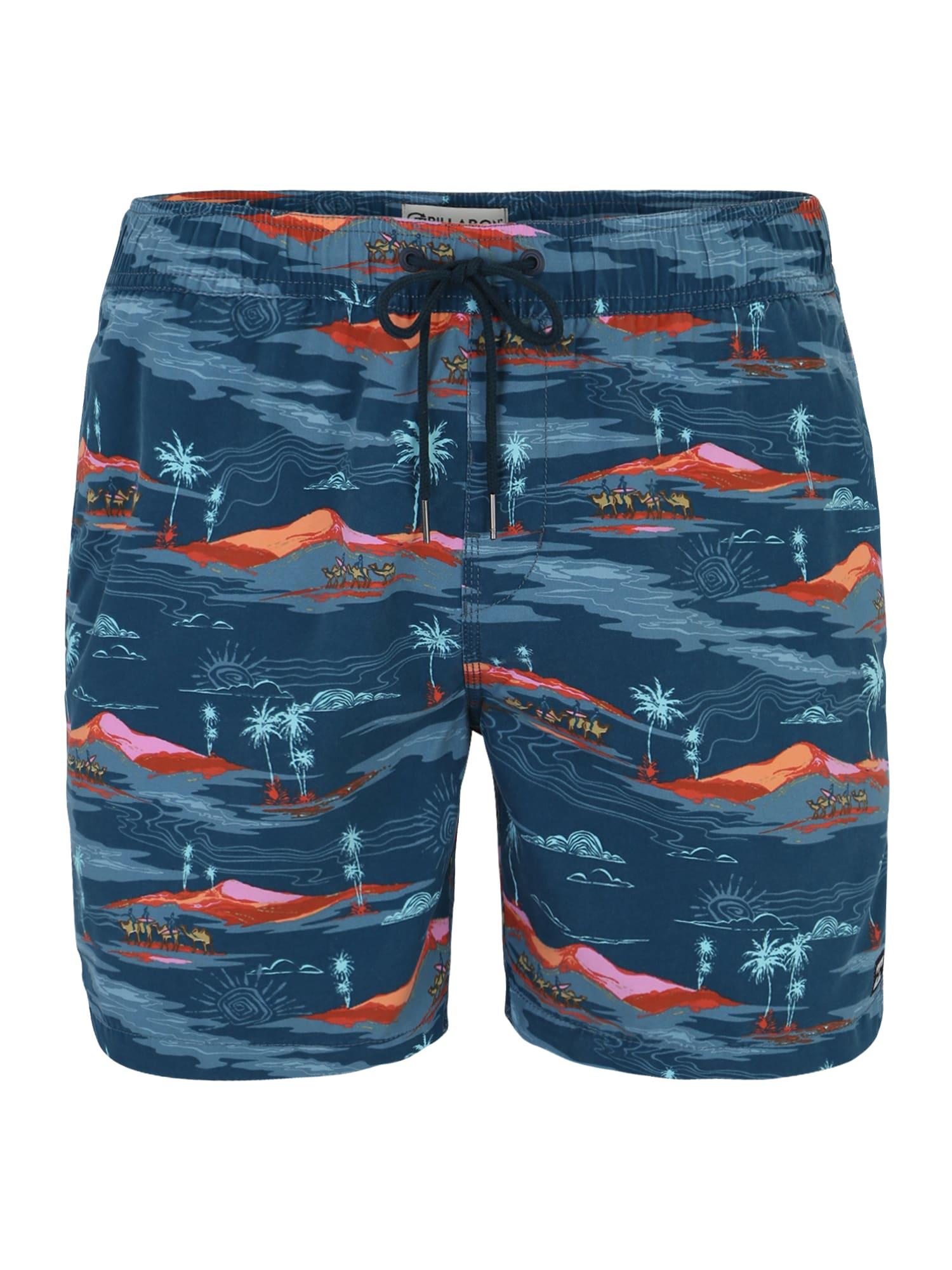 Sportovní plavky sunday pigment lb námořnická modř oranžová BILLABONG