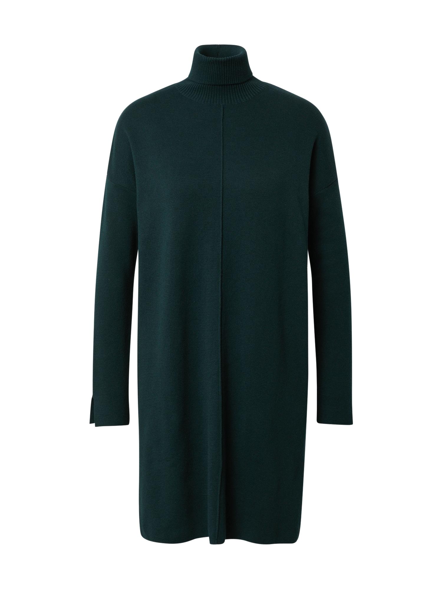 ARMEDANGELS Megzta suknelė tamsiai žalia
