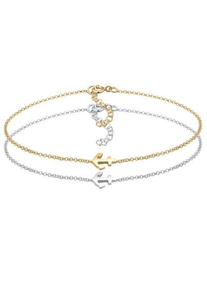 Armbaender für Frauen - ELLI Armband gold silber  - Onlineshop ABOUT YOU