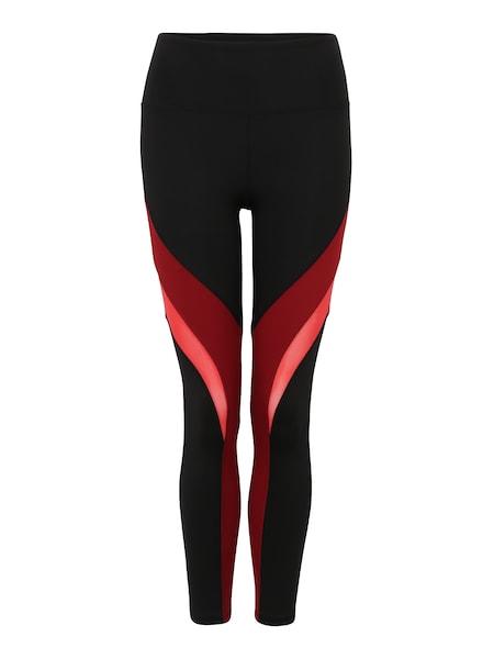 Hosen für Frauen - Leggings 'SHAYLA' › Marika › rot schwarz  - Onlineshop ABOUT YOU