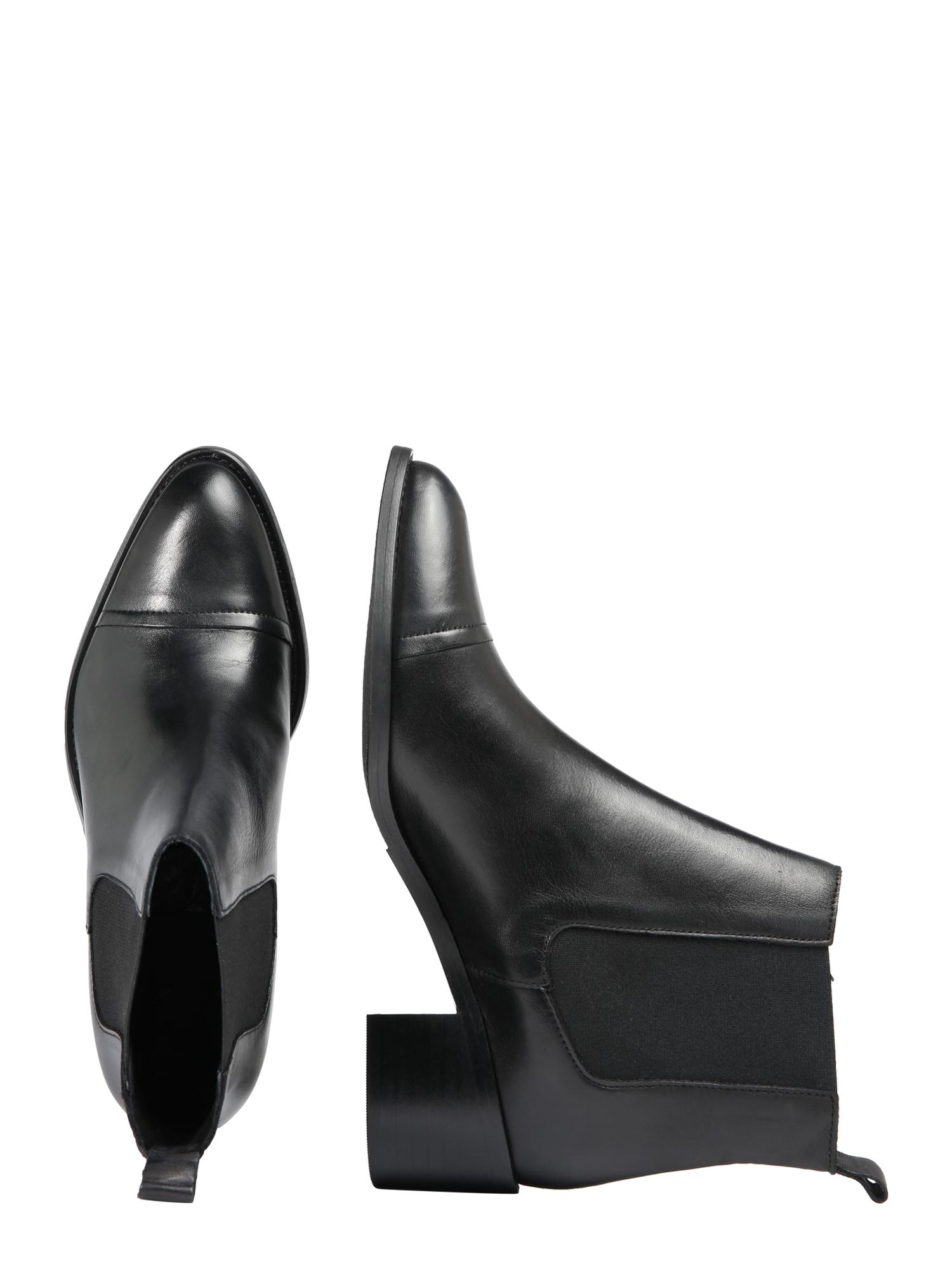 Bianco, Damen Chelsea boots Biacarol, zwart