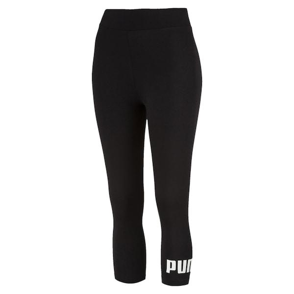 Hosen - Leggings 'Essentials' › Puma › schwarz weiß  - Onlineshop ABOUT YOU