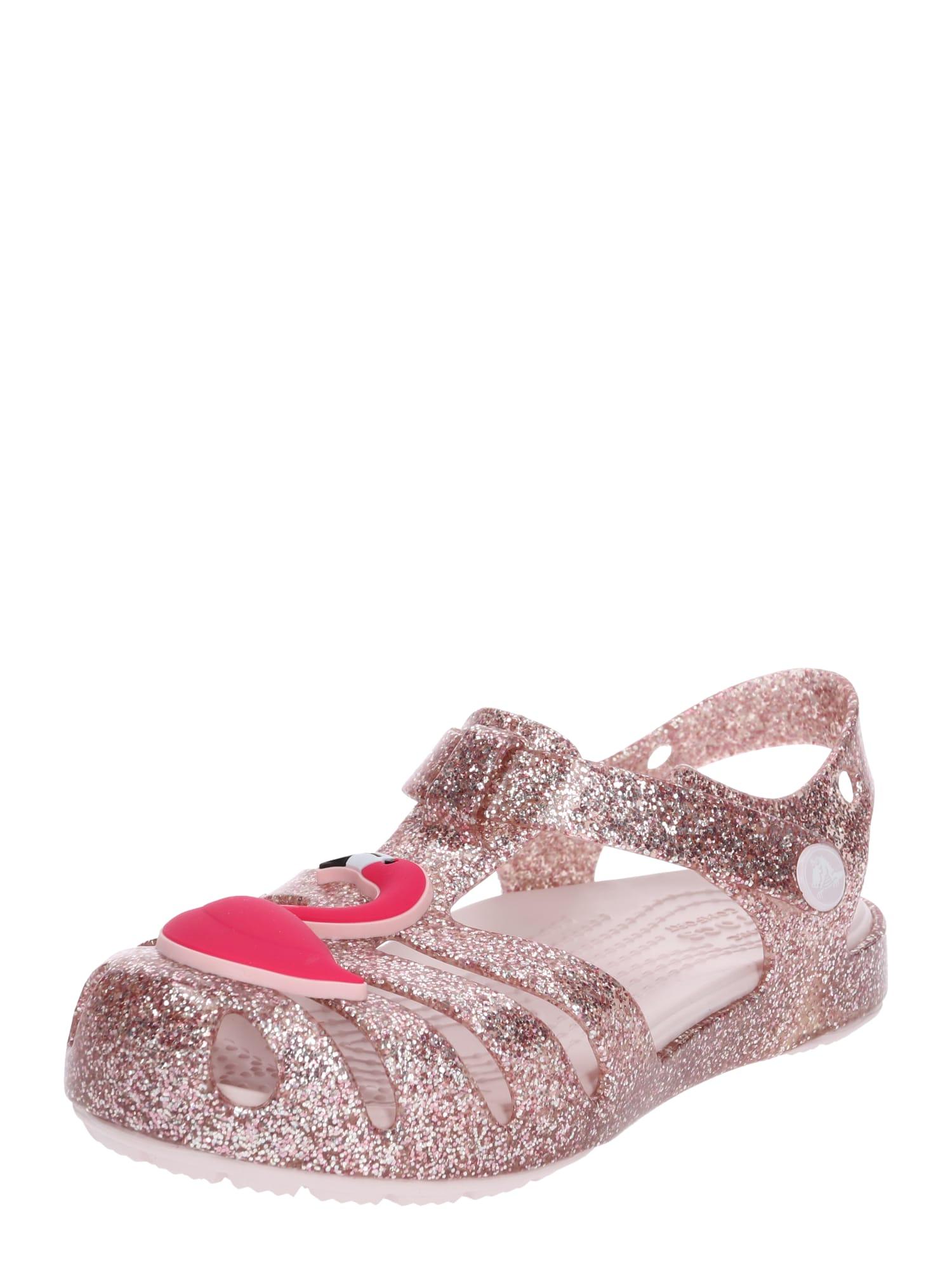 Sandály Isabella Charm Sandal K růže Crocs