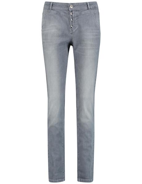 Hosen für Frauen - Jeans › TAIFUN › grey denim  - Onlineshop ABOUT YOU