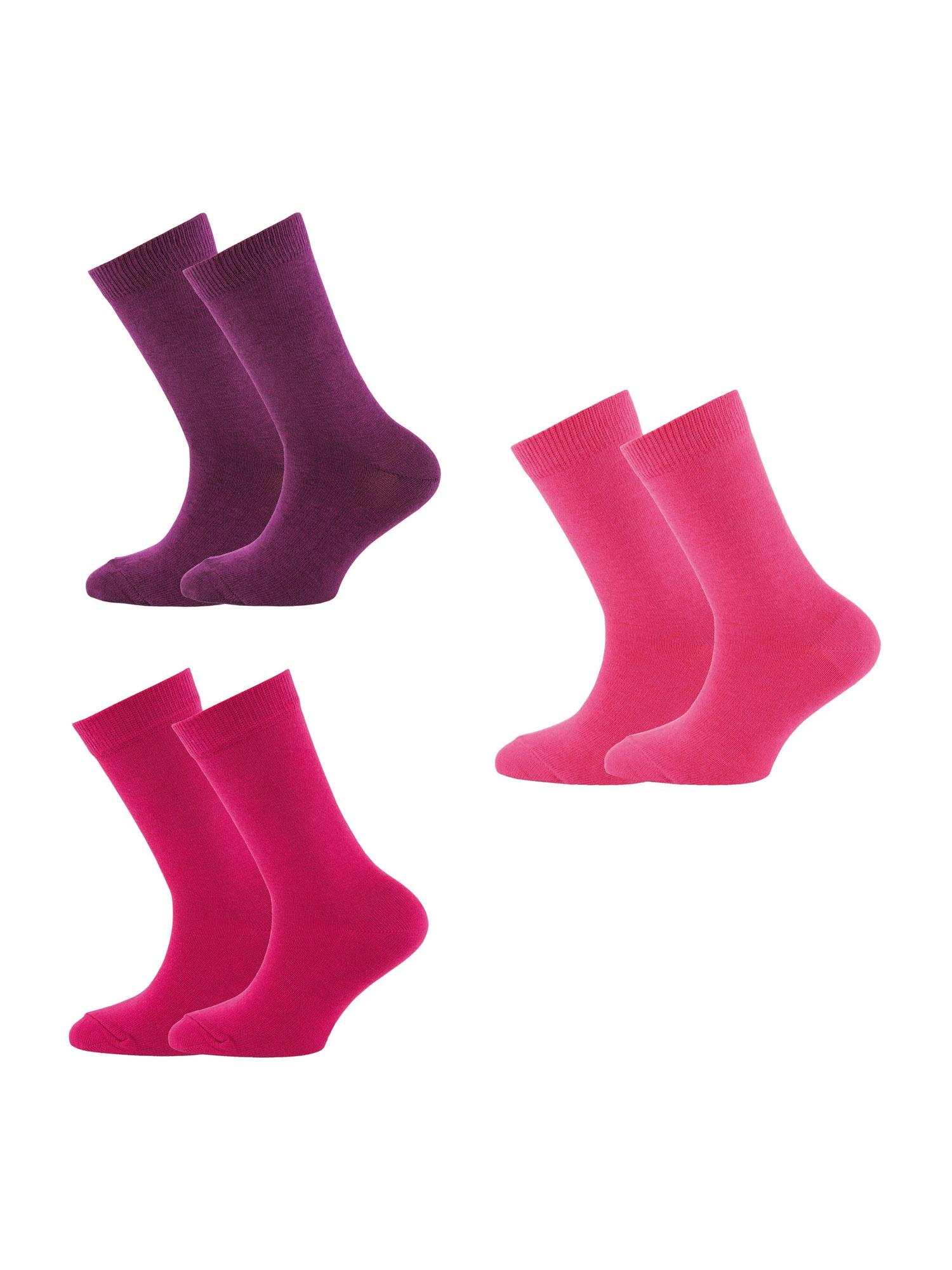EWERS Kojinės rožinė / slyvų spalva / šviesiai rožinė