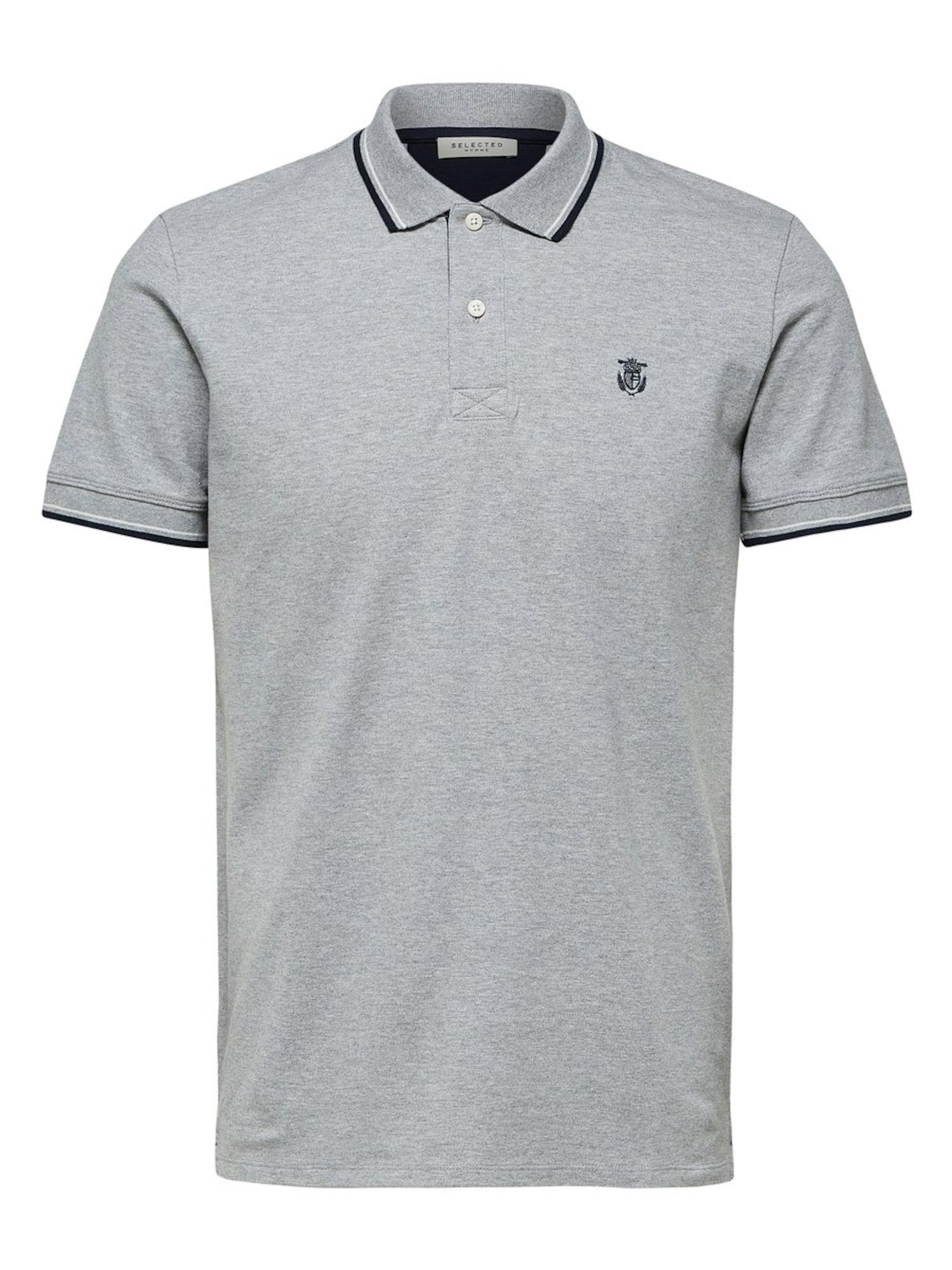 SELECTED HOMME Marškinėliai pilka