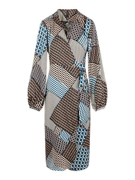 Kleider - Kleid › Y.A.S › blau beige rot weiß  - Onlineshop ABOUT YOU
