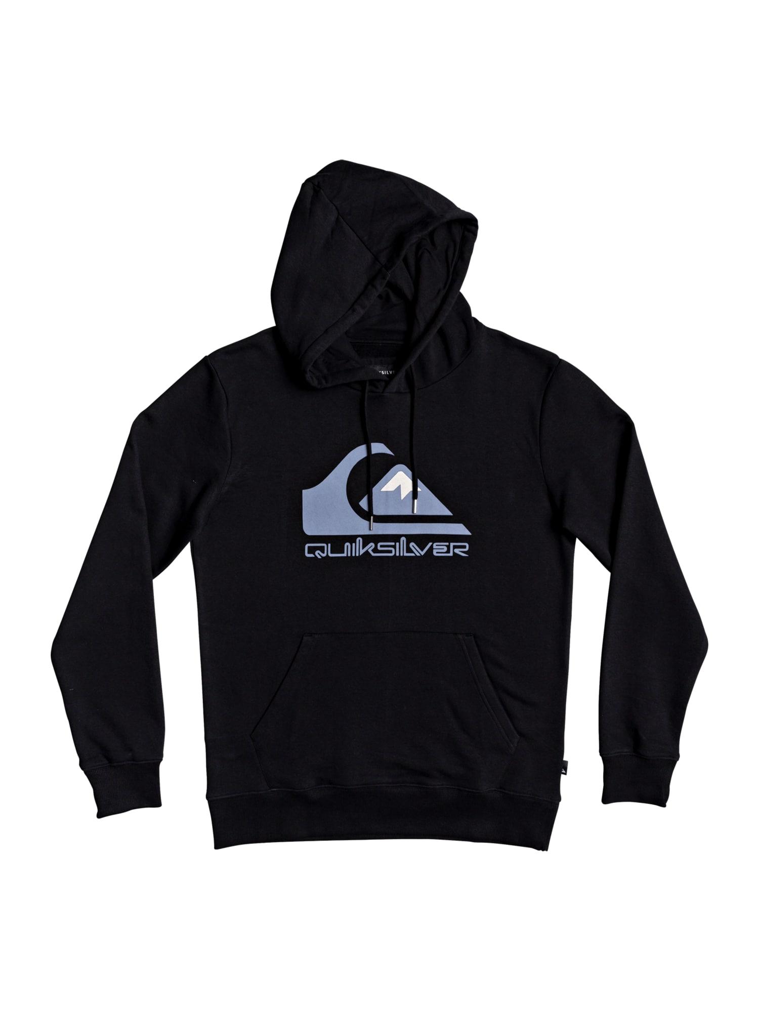 QUIKSILVER Sportinio tipo megztinis juoda / mėlyna