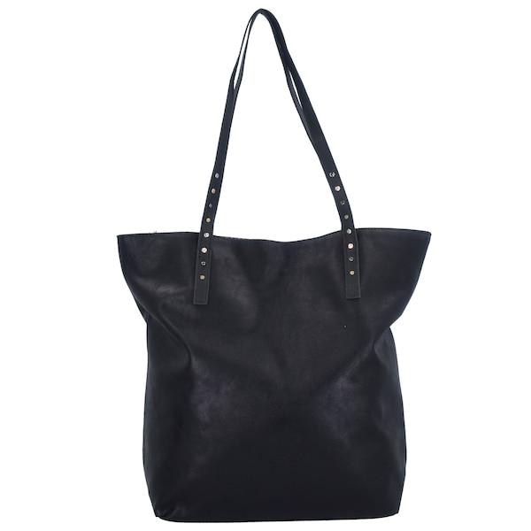 Shopper für Frauen - TOM TAILOR DENIM Ronja Shopper Tasche 40 cm schwarz  - Onlineshop ABOUT YOU