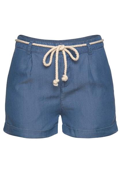 Hosen für Frauen - Shorts › Tom Tailor Polo Team › blau  - Onlineshop ABOUT YOU