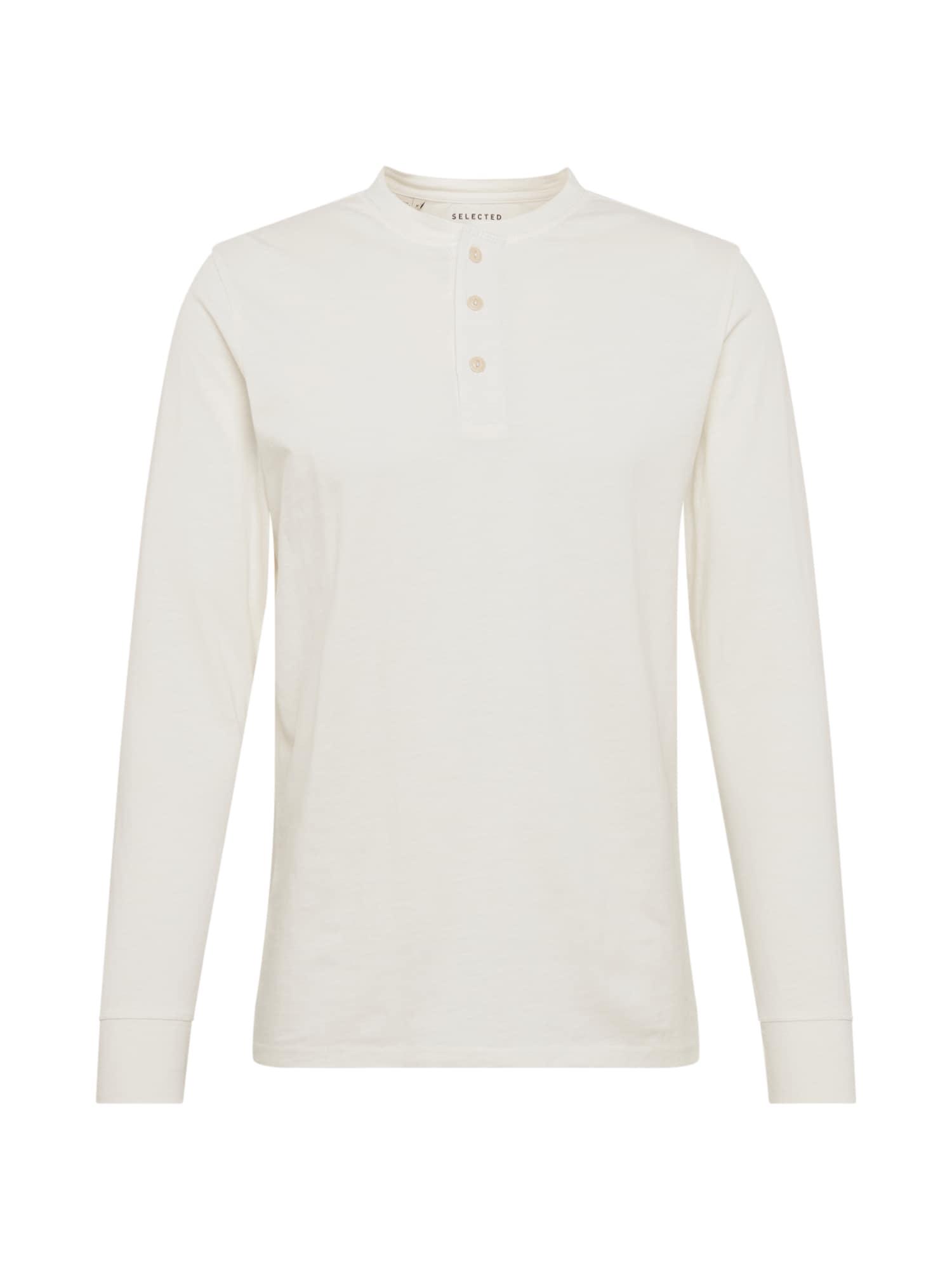 SELECTED HOMME Marškinėliai balta
