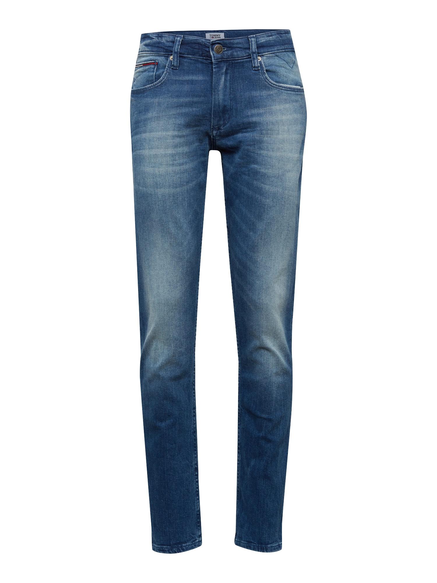 Tommy Jeans Džinsai 'Original Straight Ryan BEMB' tamsiai (džinso) mėlyna