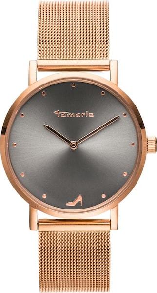 Uhren für Frauen - Uhr 'Anda, TW041' › tamaris › gold schwarz  - Onlineshop ABOUT YOU