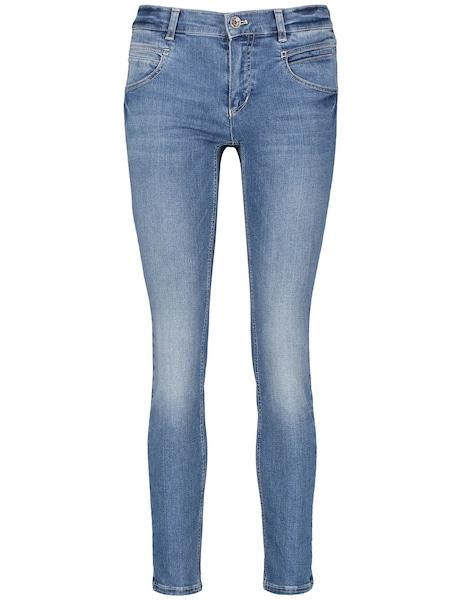 Hosen für Frauen - Hose › TAIFUN › blue denim  - Onlineshop ABOUT YOU