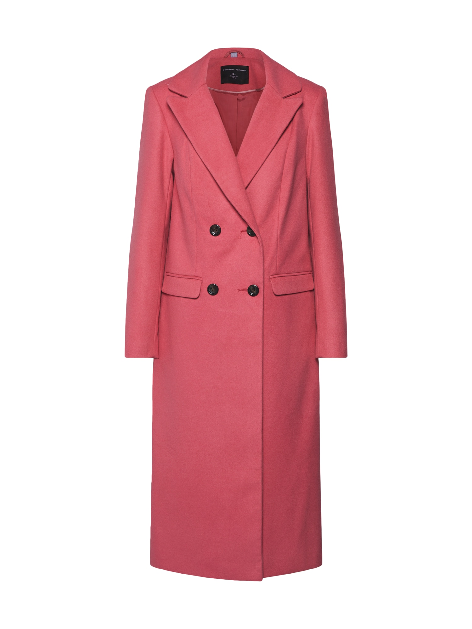 Přechodný kabát COLOUR CROMBIE pink Dorothy Perkins