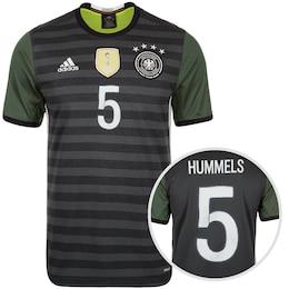 ADIDAS,ADIDAS PERFORMANCE Herren DFB Trikot Away Hummels EM 2016 Herren grau | 04055033013349